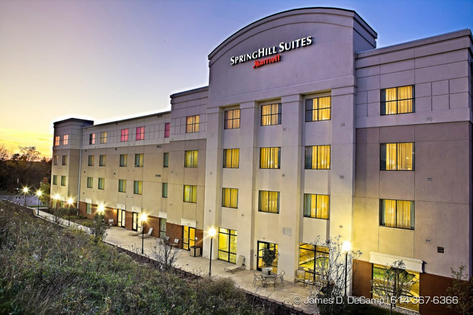 The SpringHill Suites Dayton South / Miamisburg photographed for Alliance Hospitality, Inc. Friday afternoon/evening October 7, 2011. (© James D. DeCamp | http://www.JamesDeCamp.com | 614-367-6366)