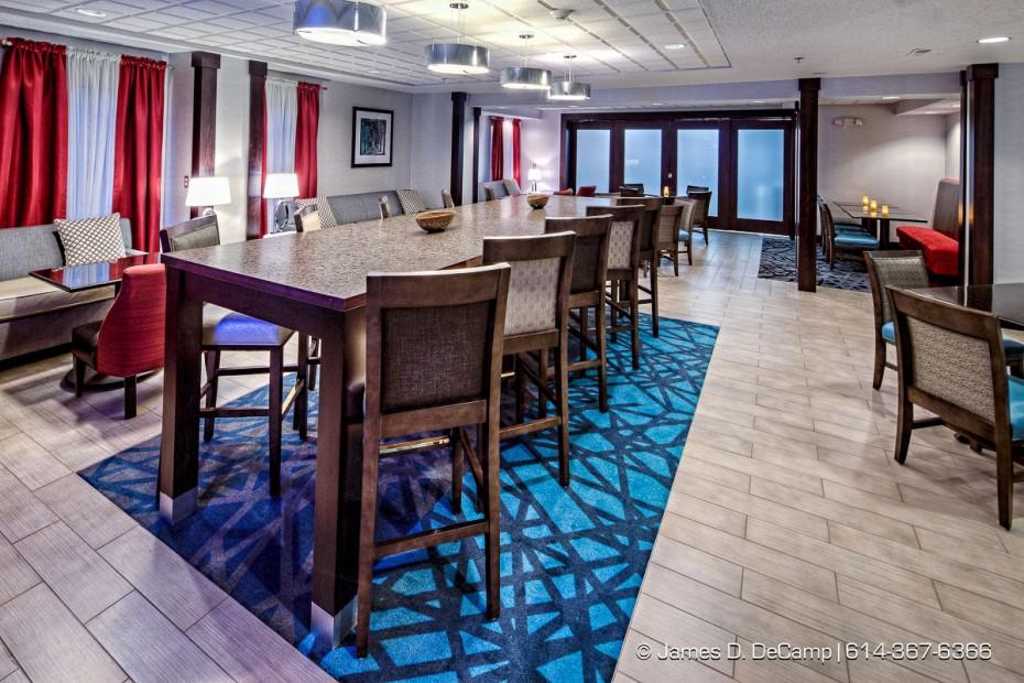 The Hampton Inn - Kent photographed April 17, 2013 for Alliance Hospitality, Inc. (© James D. DeCamp   http://www.JamesDeCamp.com   614-367-6366)