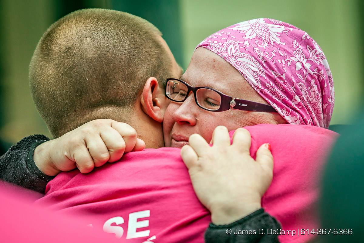 The 2014 Komen Race for the Cure photographed May 17, 2014 in Columbus, Ohio. (© James D. DeCamp   http://www.JamesDeCamp.com   614-367-6366)