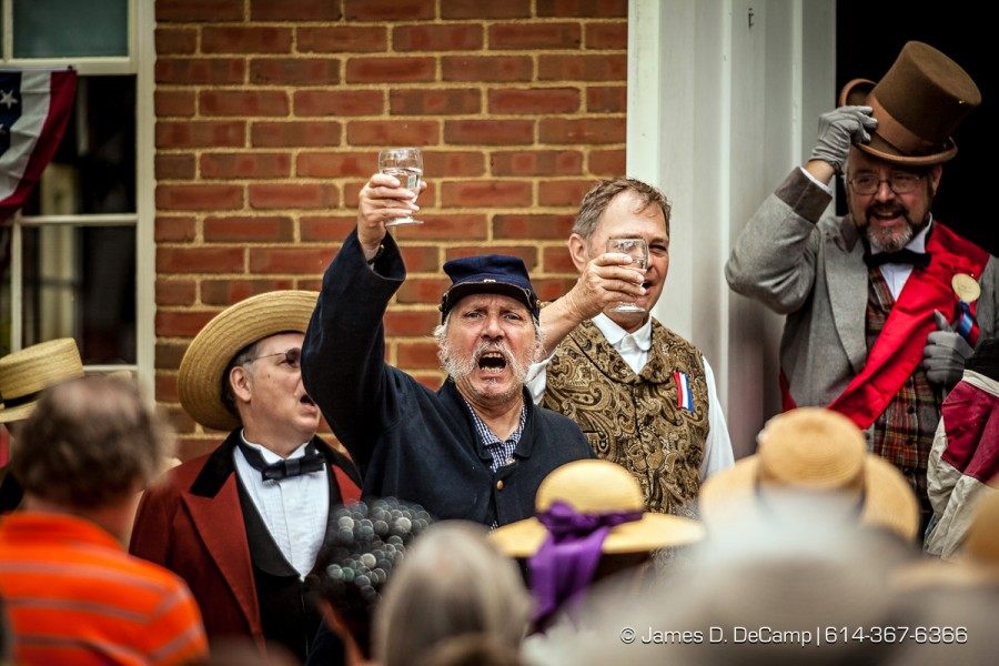 The Ohio History Connection's Glorious Fourth Celebration at the Ohio Village photographed July 4, 2014. (© James D. DeCamp | http://www.JamesDeCamp.com | 614-367-6366)