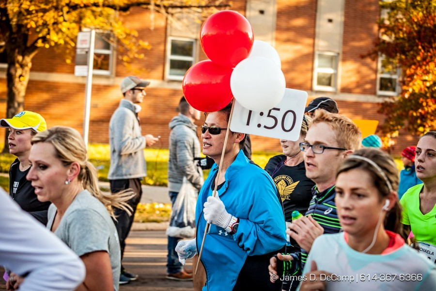 The 35th running of the Columbus Marathon photographed October 19, 2014. (© James D. DeCamp | http://www.JamesDeCamp.com | 614-367-6366)