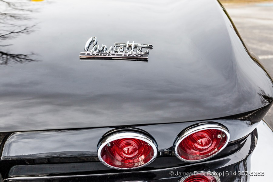 A black 1964 Corvette Convertible photographed Friday November 27, 2015. (© James D. DeCamp | http://www.JamesDeCamp.com | 614-367-6366)