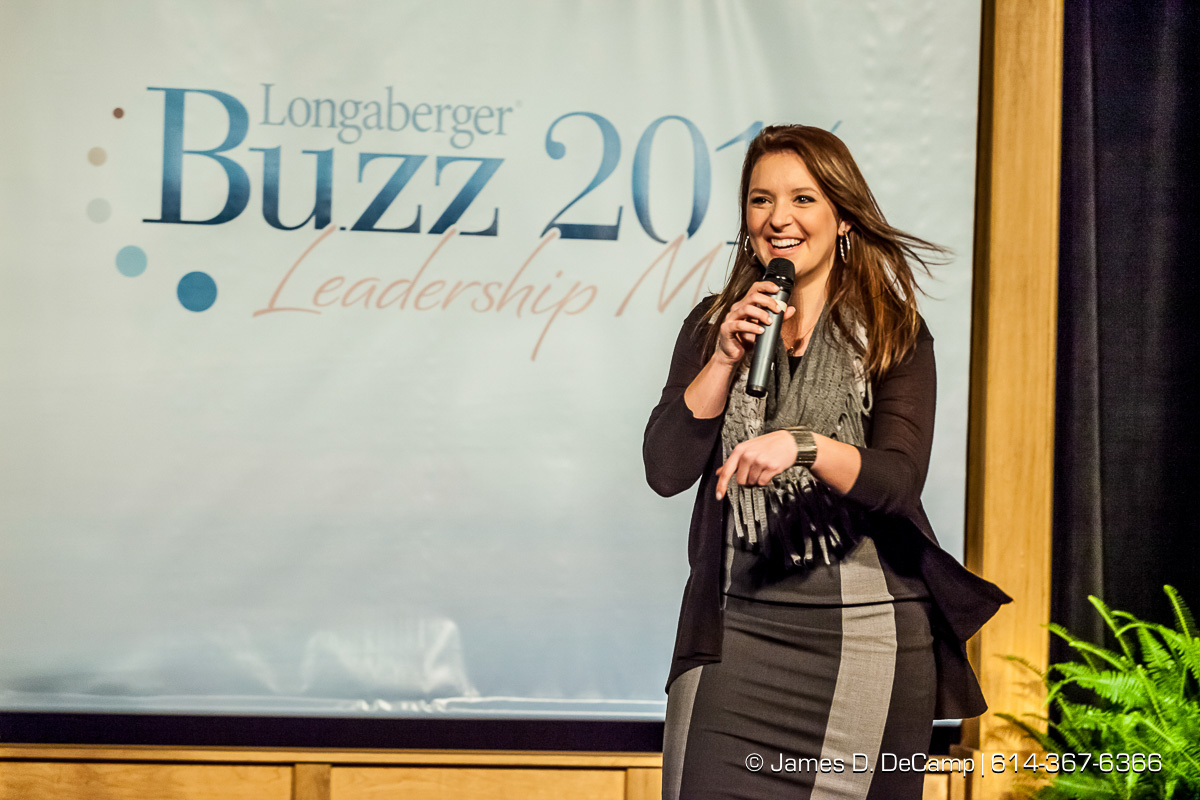 Longaberger Basket Company's Claire Longaberger at the 2014 Longaberger Buzz photographed January 10, 2014. (© James D. DeCamp | http://www.JamesDeCamp.com | 614-367-6366)
