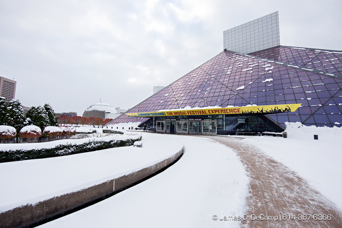 Rock & Roll Hall Of Fame photographed Friday, November 14, 2014. (© James D. DeCamp | http://JamesDeCamp.com | 614-367-6366)