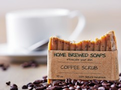 Home Brewed Soaps photographed Wednesday February 24, 2016 in the studio. With the goal of creating skin-nourishing and natural goods, Home Brewed Soaps was born in Rockland, Maine. Crafted in small batches, the company