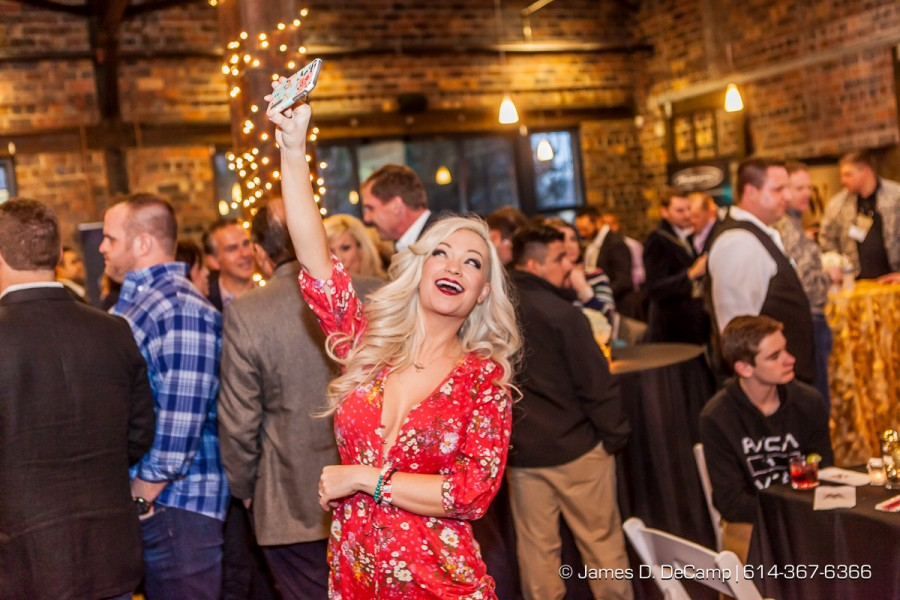 #iheartmindy shooting a selfie at the 2016 After-School All-Stars Ohio Arnold Experience photographed Friday March 4, 2016 at Dock 580 with Arnold Schwarzenegger. (© James D. DeCamp | http://www.JamesDeCamp.com & http://www.BlueSkiesHD.com | 614-367-6366) * Full gallery of images at: http://bit.ly/1TGXA6J * #Schwarzenegger #ASF2016 #JDeCampPhoto #BlueShiesHD #ArnoldSportsFestival #ArnoldClassic #Dock580 #ASASOhio #MayorGinther #Kasich #614 #AsSeenInColumbus #ApoloOhno #BraunStrowman #WWETheBigShow #iheartmindy #xcnatch #johnnybench #fairfaxhackley