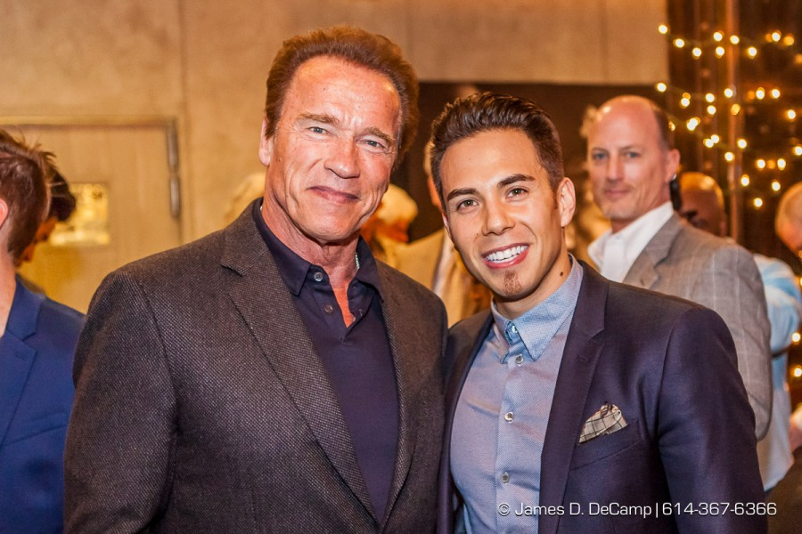 Arnold Schwarzenegger & Apolo Ohno at the 2016 After-School All-Stars Ohio Arnold Experience photographed Friday March 4, 2016 at Dock 580 with Arnold Schwarzenegger. (© James D. DeCamp | http://www.JamesDeCamp.com & http://www.BlueSkiesHD.com | 614-367-6366) #Schwarzenegger #ASF2016 #JDeCampPhoto #BlueShiesHD #ArnoldSportsFestival #ArnoldClassic #Dock580 #ASASOhio #MayorGinther #Kasich #614 #AsSeenInColumbus #ApoloOhno