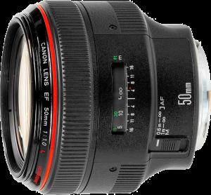 Canon 50mm ƒ/1.0