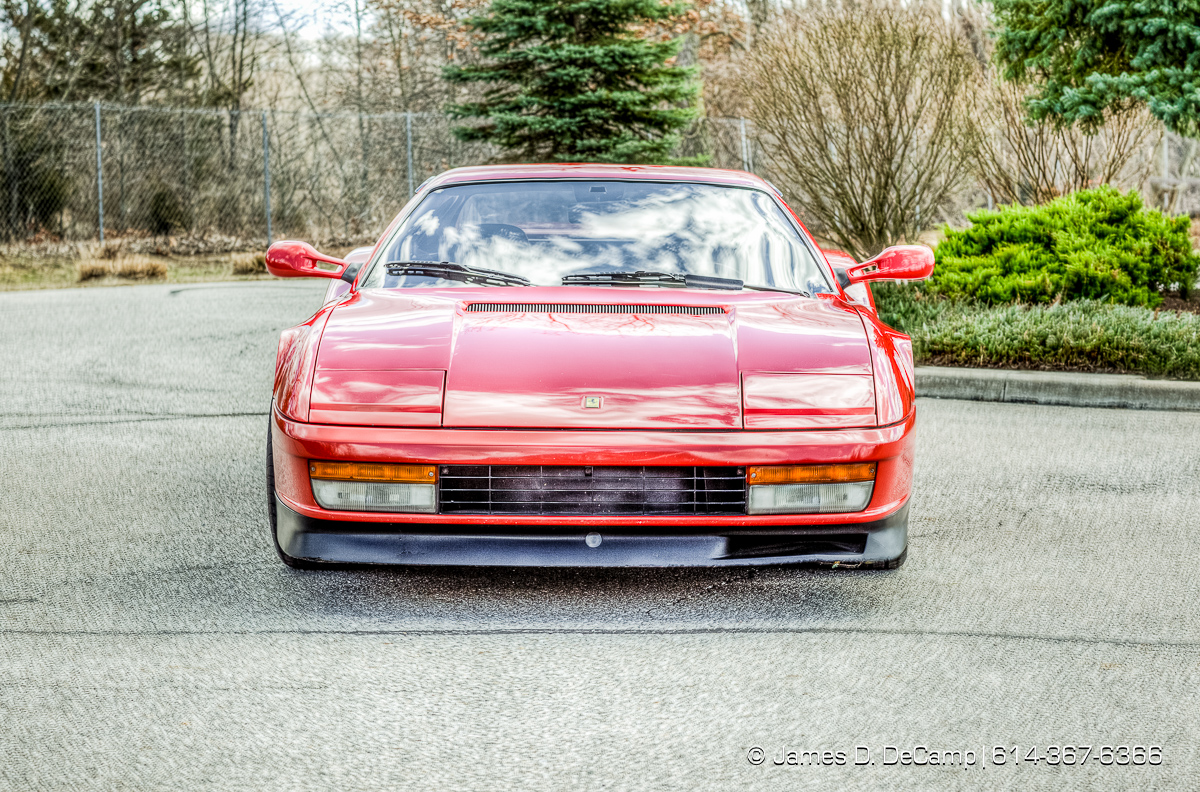A 1990 Ferrari Testarossa photographed Wednesday March 16, 2016 in Holland, Ohio. (© James D. DeCamp | http://www.JamesDeCamp.com | 614-367-6366)