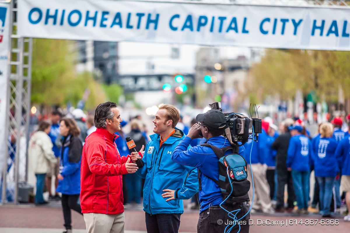 OhioHealth Capital City Half Marathon photographed Saturday April 30, 2016. (© James D. DeCamp | http://www.JamesDeCamp.com | 614-367-6366)