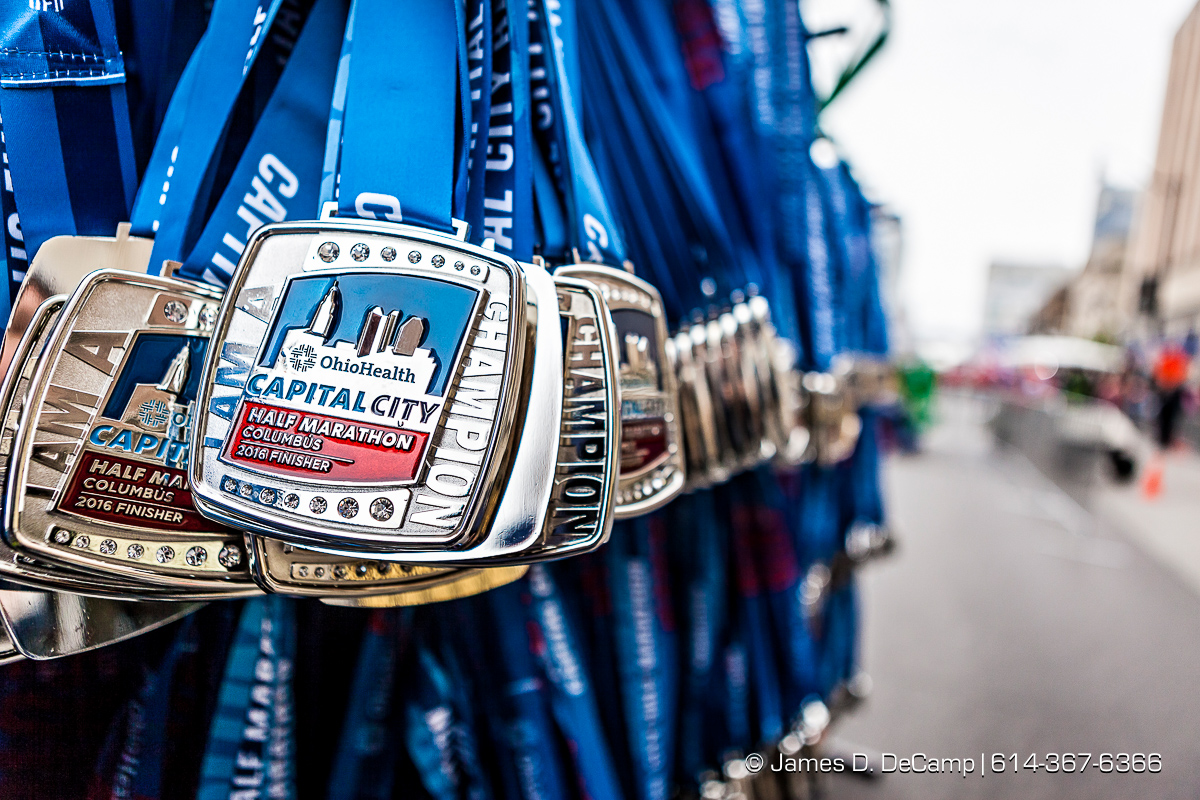 OhioHealth Capital City Half Marathon photographed Saturday April 30, 2016 in Columbus, Ohio. (© James D. DeCamp | http://www.JamesDeCamp.com | 614-367-6366) @CapCityHalf, #JDeCampPhoto, #M3SSports, #614, #AsSeenInColumbus, #ohiohealth, #CapCitySportsMedia, #Patron, #Columbus, #OH, @DTColumbus, #ExpCols