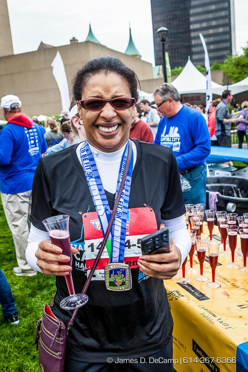OhioHealth Capital City Half Marathon photographed Saturday April 30, 2016. (© James D. DeCamp   http://www.JamesDeCamp.com   614-367-6366)