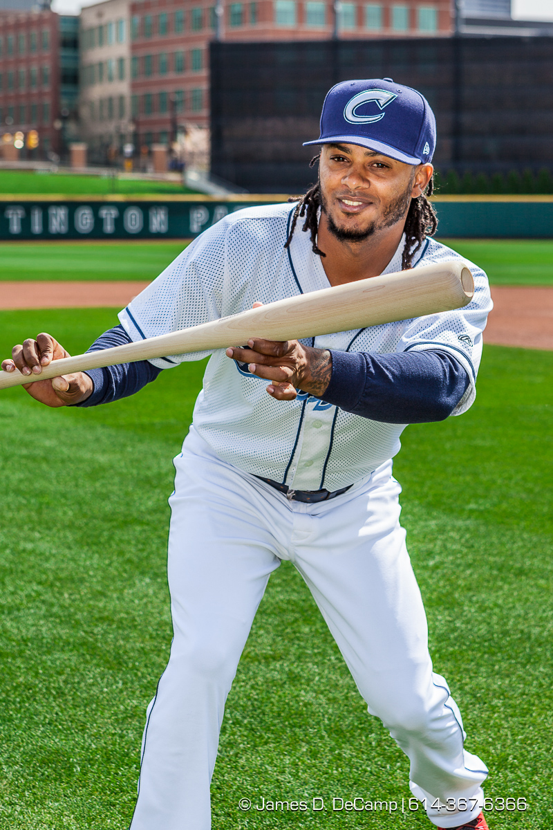 The 2016 Columbus Clippers Official Baseball Card and team photos photographed Wednesday April 6, 2016 at Huntington Park. (© James D. DeCamp   http://www.JamesDeCamp.com   614-367-6366) @CLBClippers #CLBClippers #614 #AsSeenInColumbus #JDeCampPhoto