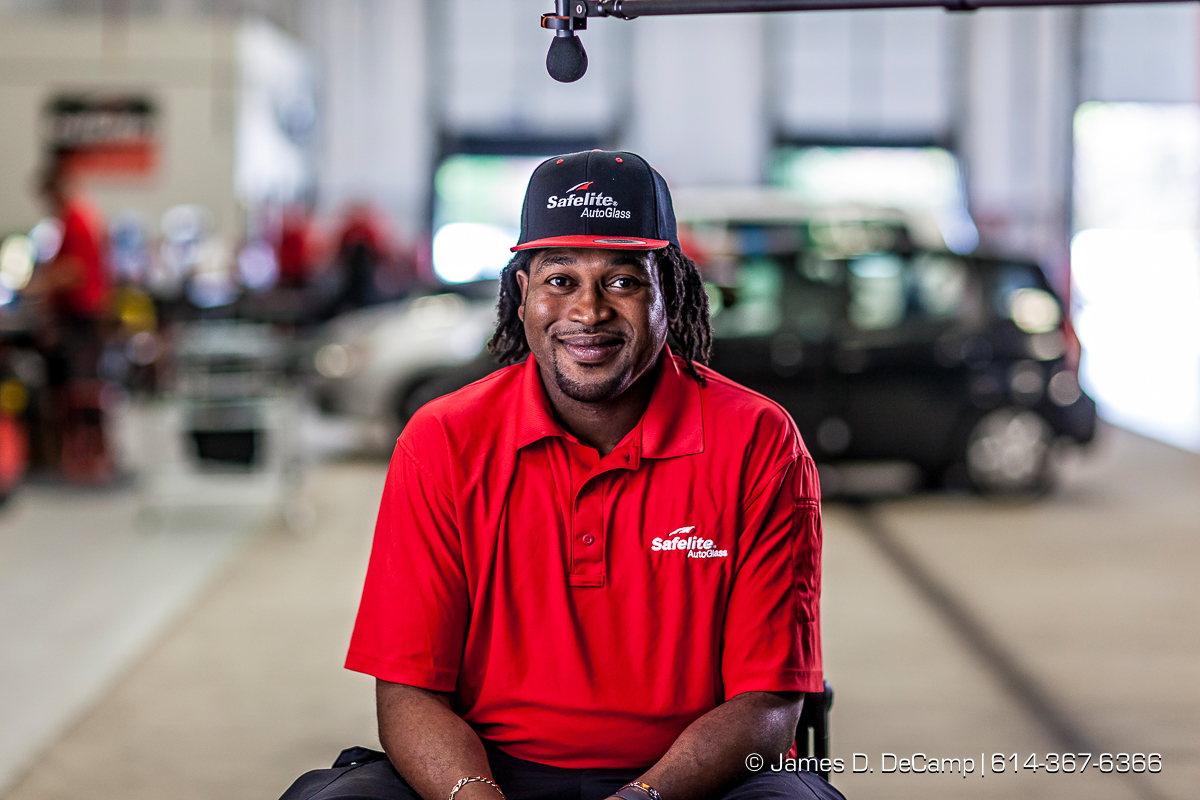 The Day In The Life of a Safelite Auto Glass installer photographed Wednesday May 25, 2016 at the Safelite facility in Worthington, Ohio. (© James D. DeCamp | http://www.JamesDeCamp.com | 614-367-6366)