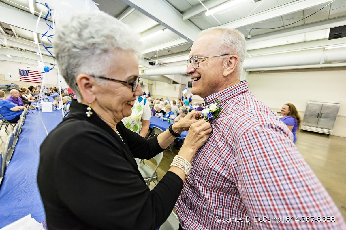 The Ohio Health Cancer Survivors Dinner photographed Friday June 17, 2016 which had more than 1,000 people attending the dinner and program in Fairhaven Hall at the Richland County Fairgrounds. (© James D. DeCamp | http://www.JamesDeCamp.com | 614-367-6366)