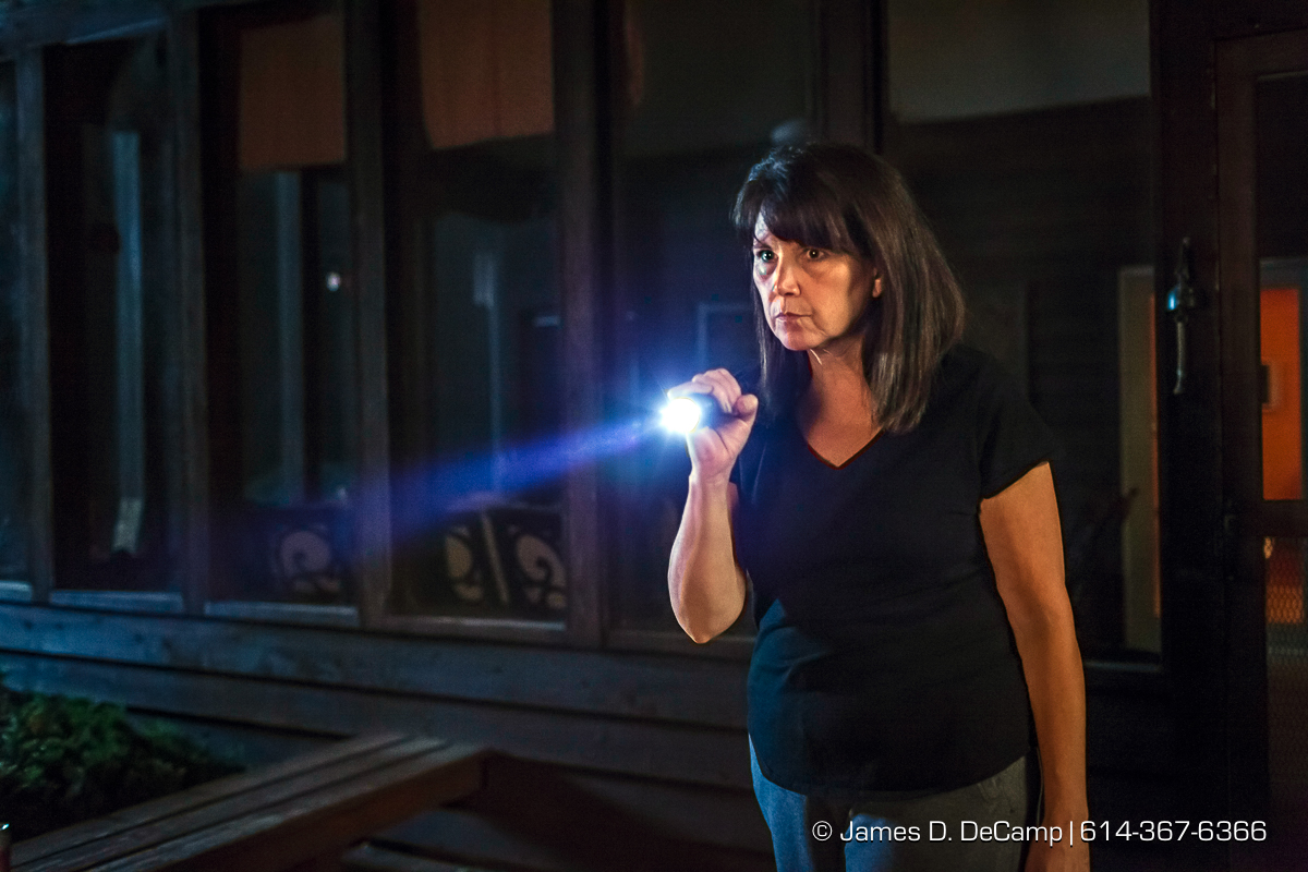 Tactical flashlight advertising shoot photographed Friday July 8, 2016. (© James D. DeCamp | http://www.JamesDeCamp.com | 614-367-6366)