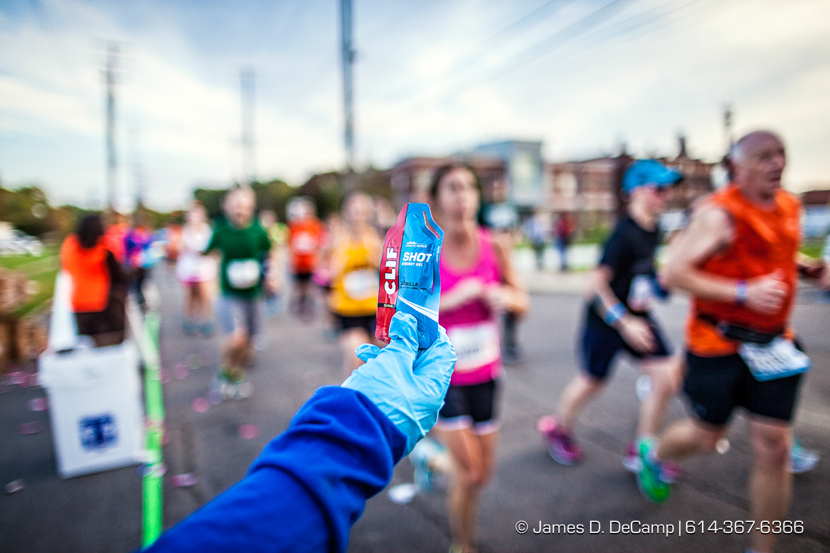 The 2016 Nationwide Childrens Hospital Columbus Marathon photographed Sunday, October 16, 2016 in Columbus, Ohio. (© James D. DeCamp | http://JamesDeCamp.com | 614-367-6366)