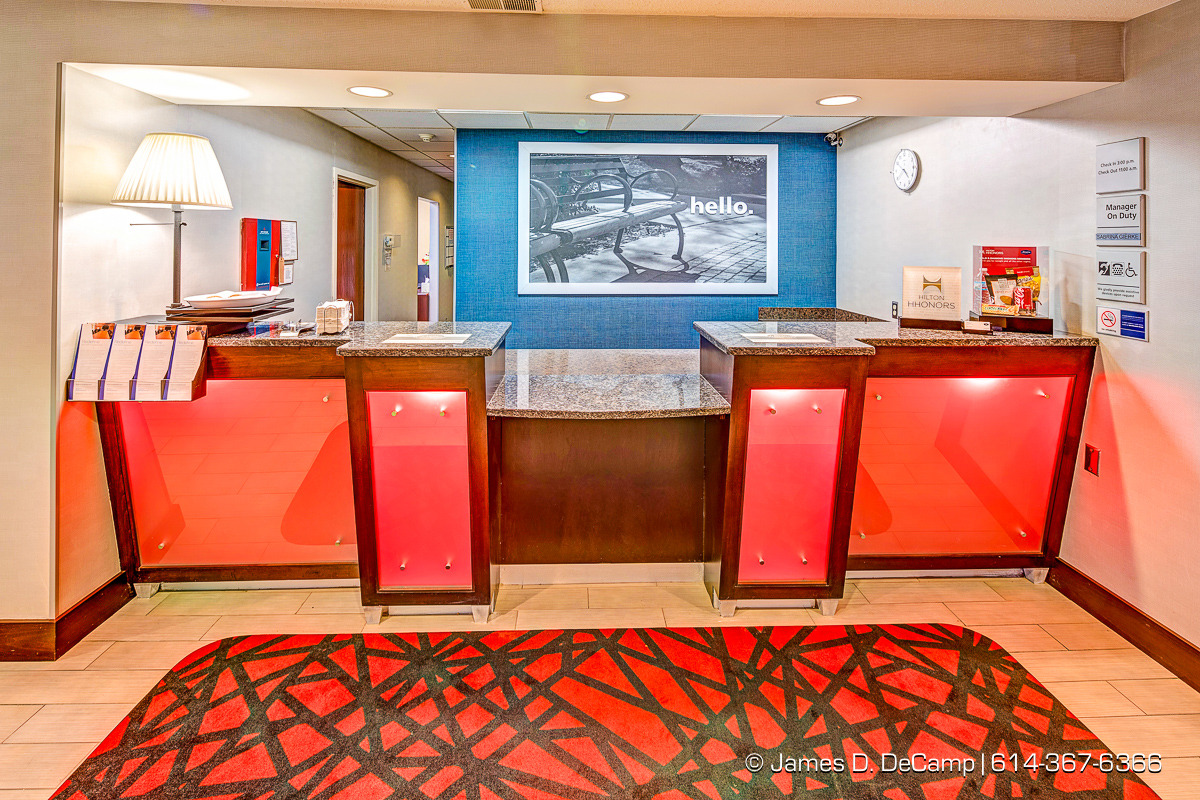 The Hampton Inn Kent photographed Thursday, October 20, 2016 for Alliance Hospitality. (© James D. DeCamp | http://JamesDeCamp.com | 614-367-6366)