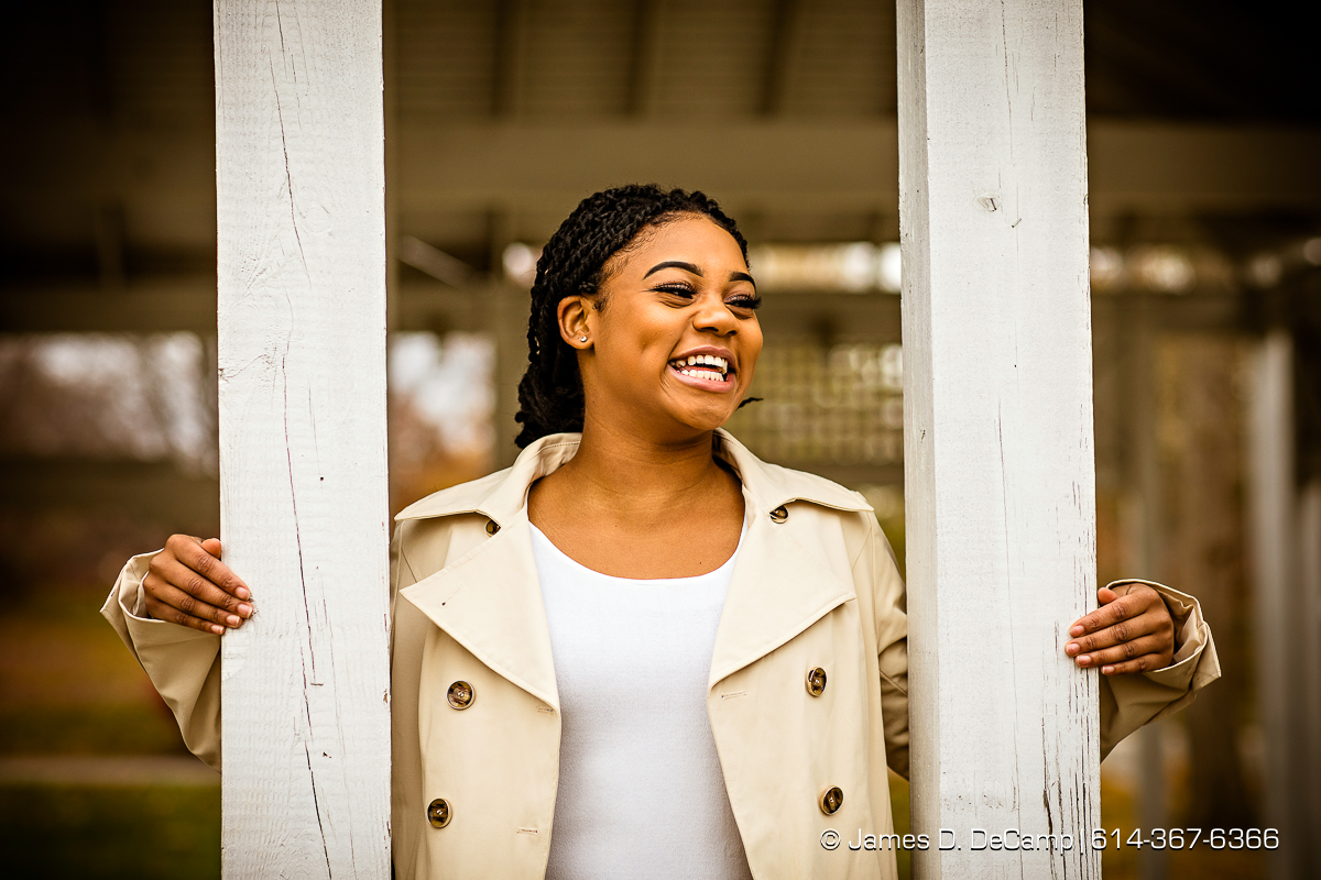 Senior session with Taylour Crutchfield photographed Sunday, November 20, 2016 at the Franklin Park Conservatory. (© James D. DeCamp | http://JamesDeCamp.com | 614-367-6366)