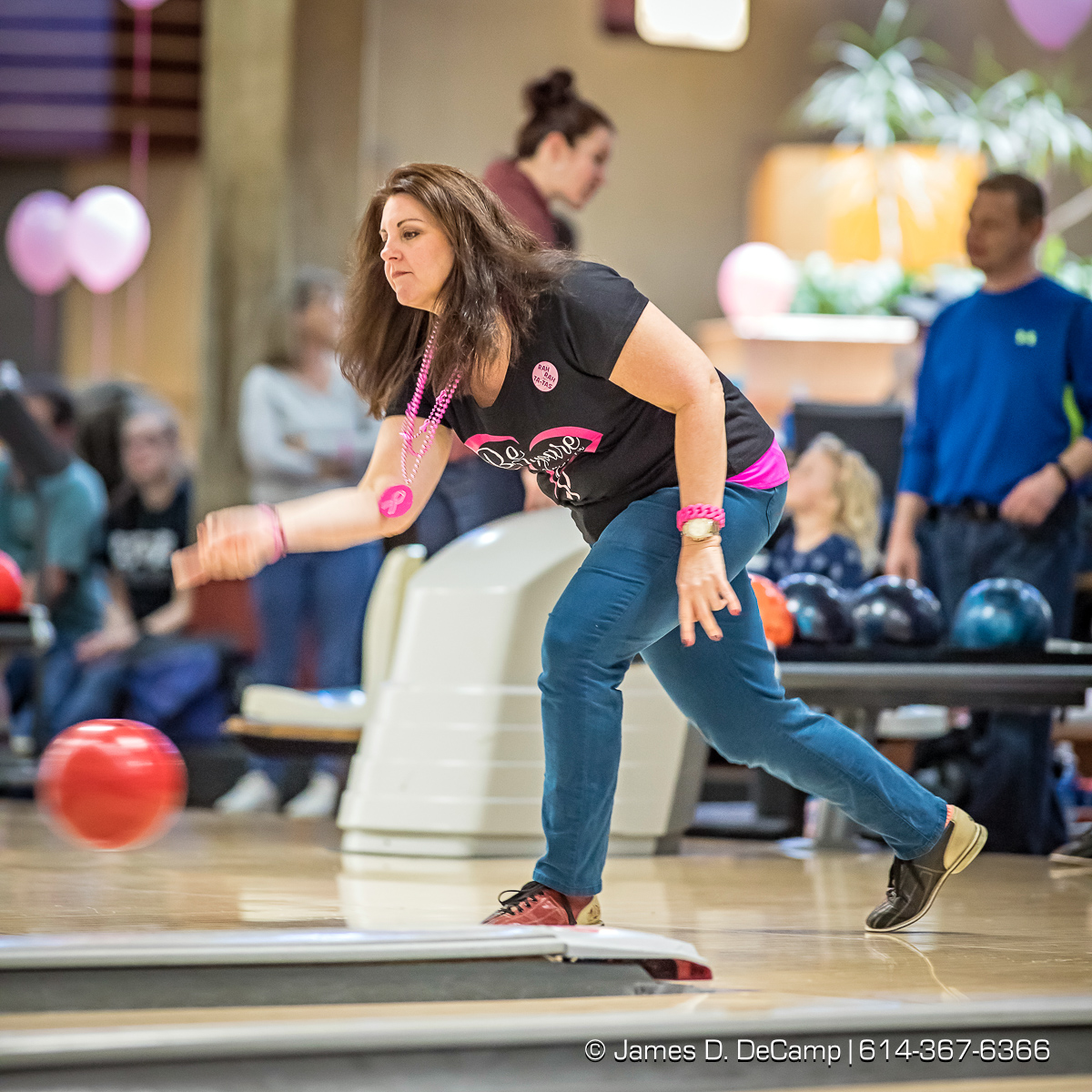 Spare Nothing for the Cure photographed Sunday, February 26, 2017 at the Columbus Square Bowling Palace. (© James D. DeCamp | http://JamesDeCamp.com | 614-367-6366)