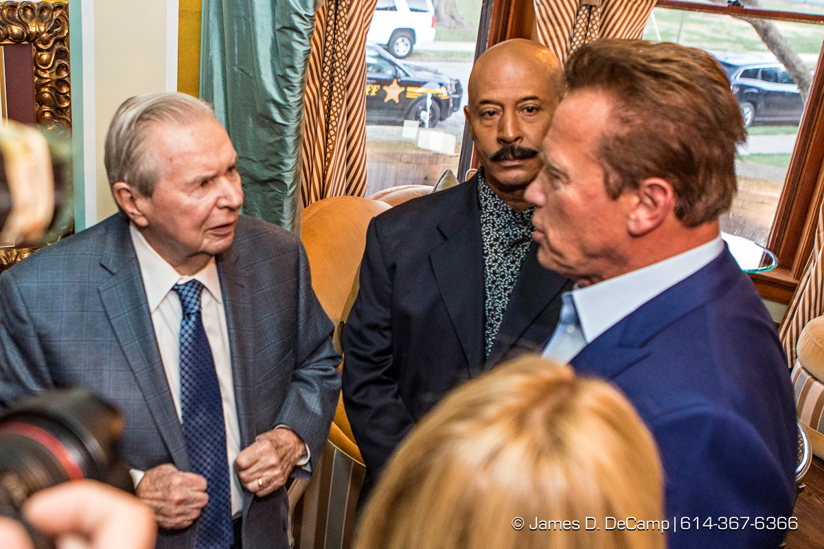The 2017 After-School All-Stars Ohio Arnold Experience photographed Friday, March 3, 2017 at the Wolfe Circus House with Arnold Schwarzenegger. (© James D. DeCamp | http://www.JamesDeCamp.com & http://www.BlueSkiesHD.com | 614-367-6366) #Schwarzenegger #ASF2017 #JDeCampPhoto #BlueShiesHD #ArnoldSportsFestival #ArnoldClassic #ASASOhio #Kasich #614 #AsSeenInColumbus #ApoloOhno