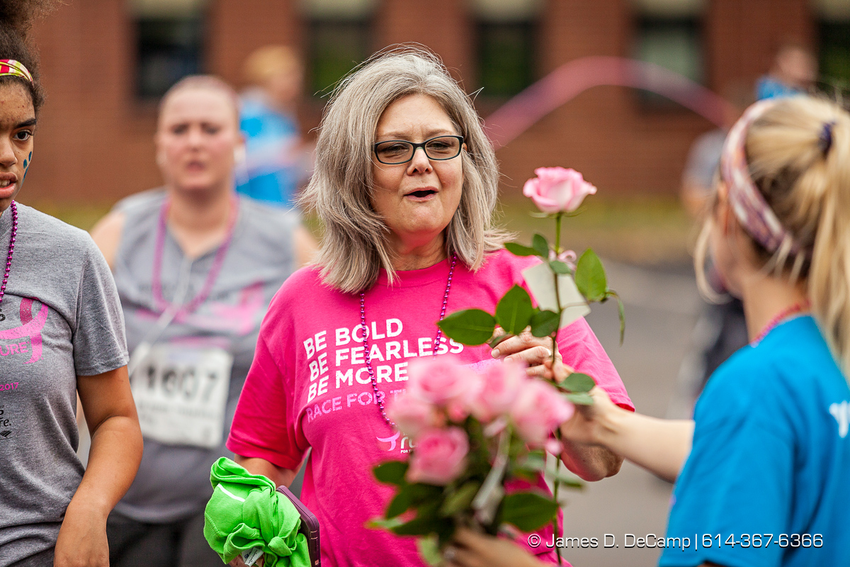 Komen Athens Race for the Cure photographed Sunday, October 15, 2017 on the campus of Ohio University. (© James D. DeCamp | http://JamesDeCamp.com | 614-367-6366) #Komen, #AthensRFTC, #RFTC, #KomenColumbus, #Athens, #OU, #JDeCampPhoto, #614, #AsSeenInColumbus