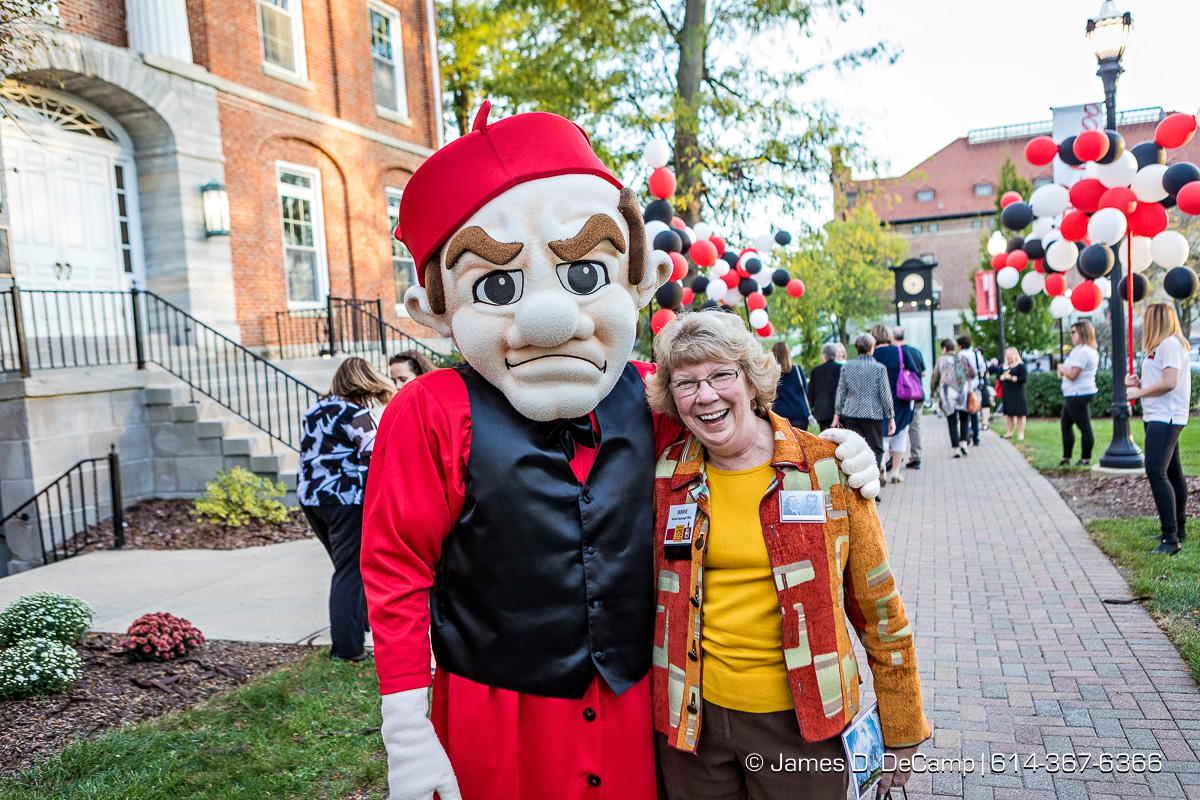 The Ohio Wesleyan University's 175 Celebration - Homecoming & Family Weekend - Connect Today, Create Tomorrow Campaign Kickoff photographed Friday, October 20, 2017 at the OWU campus. (© James D. DeCamp | http://JamesDeCamp.com | 614-367-6366)