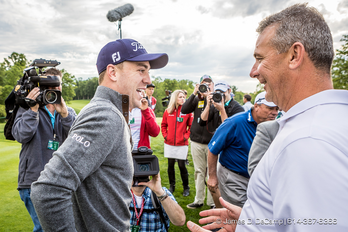 The 2017 Memorial Tournament Pro-Am Session photographed Wednesday, May 31, 2017 at the Muirfield Village Golf Club. (© James D. DeCamp   http://JamesDeCamp.com   614-367-6366)