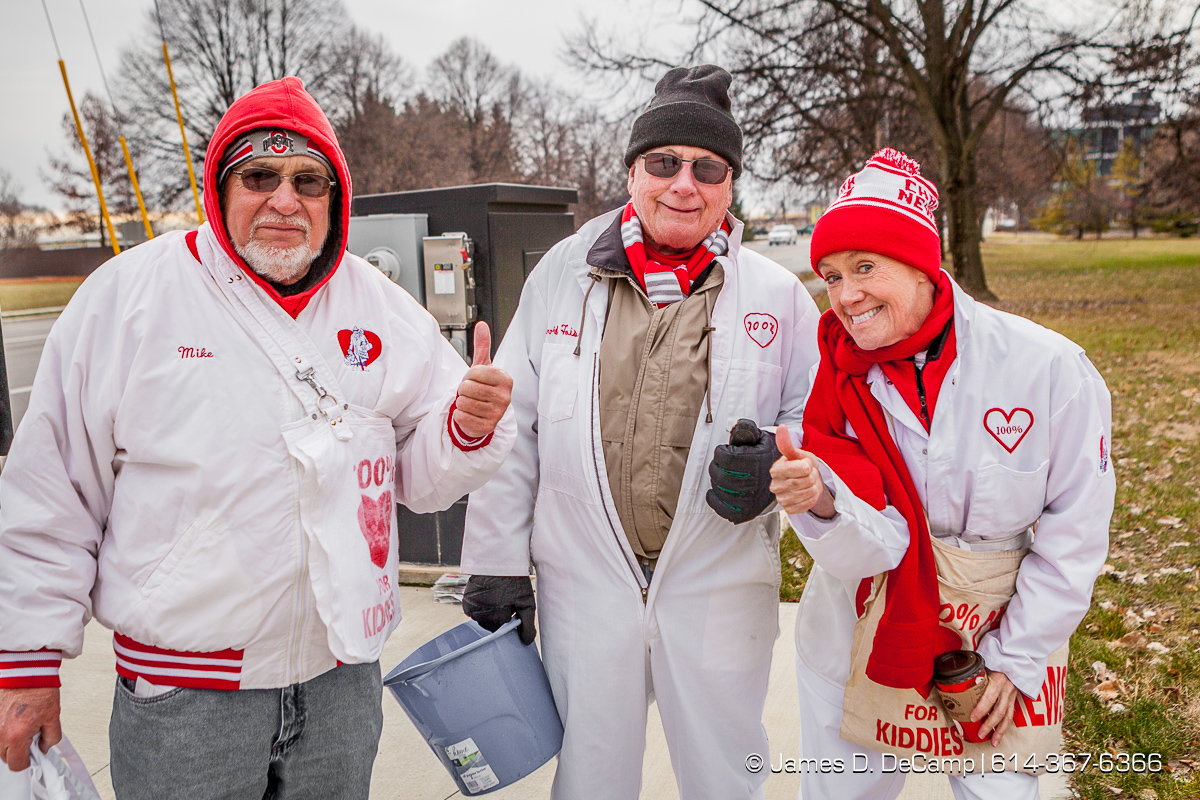 The 110th annual Newsies Newspaper Drive photographed Saturday, December 9, 2017 at various Franklin County Ohio locations. (© James D. DeCamp | http://JamesDeCamp.com | 614-367-6366)