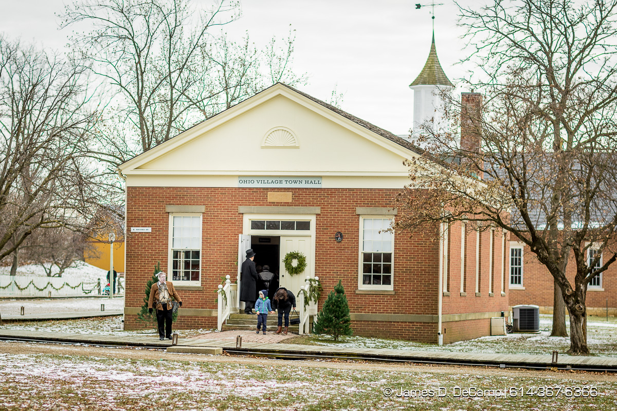 Dickens of a Christmas photographed Sunday, December 10, 2017 at the Ohio History Connection's Ohio Village. (© James D. DeCamp | http://JamesDeCamp.com | 614-367-6366)