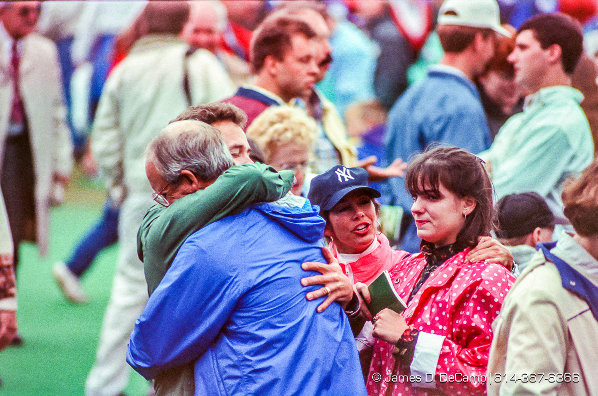 The Greater Columbus Billy Graham Crusade photographed Thursday, September 23, 1993 at Cooper Stadium in Columbus, Ohio. (© James D. DeCamp | http://JamesDeCamp.com | 614-367-6366)